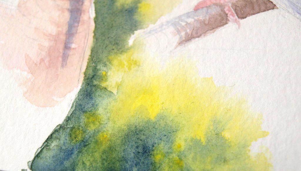 Hahnemühle Britannia matt - Farbbeispiel
